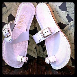 Kino Prematuro White Sandals